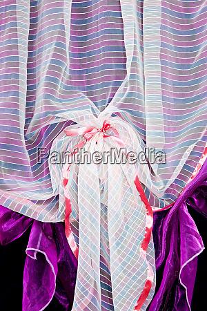 purple, drapery, detail - 28277700