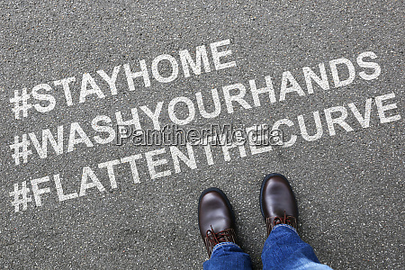 stay, home, hashtag, stayhome, flatten, the - 28277707