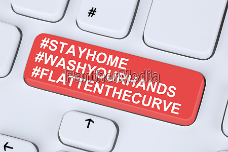 stay, home, hashtag, stayhome, flatten, the - 28277781