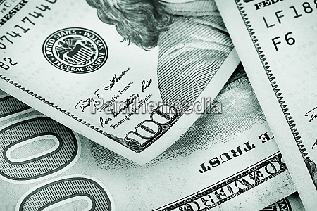 background, of, hundred, dollar, bills, lying - 28278677