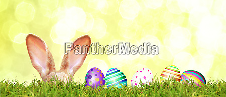 beautiful, easter, background, with, colorful, easter - 28278297