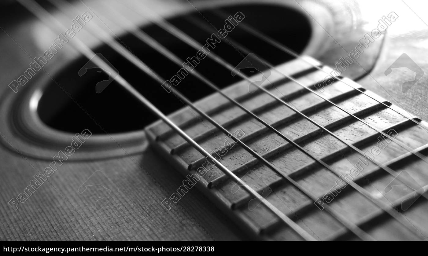 close, up, macro, on, guitar, strings - 28278338