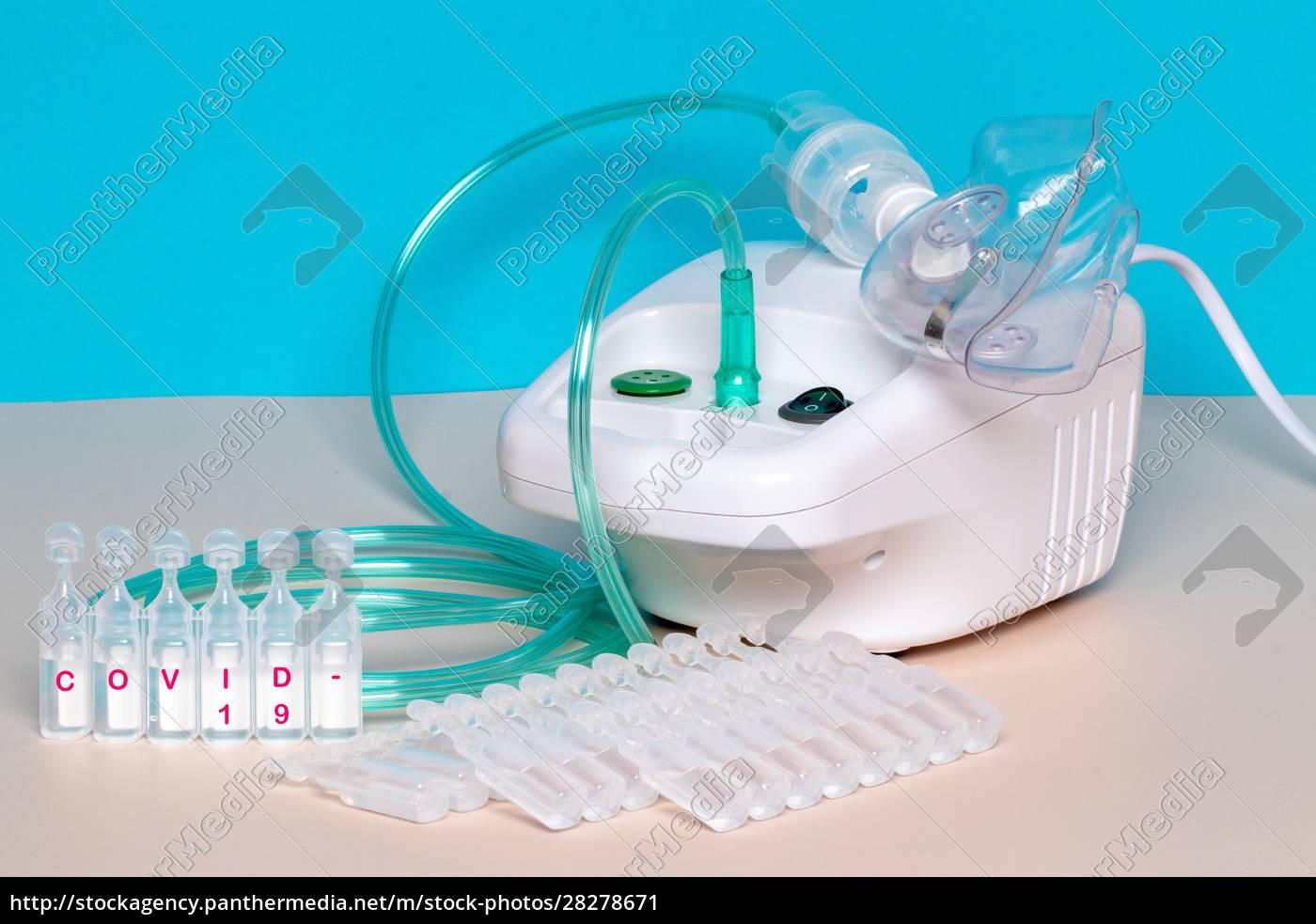 coronavirus, treatment, concept., an, inhaler, device - 28278671