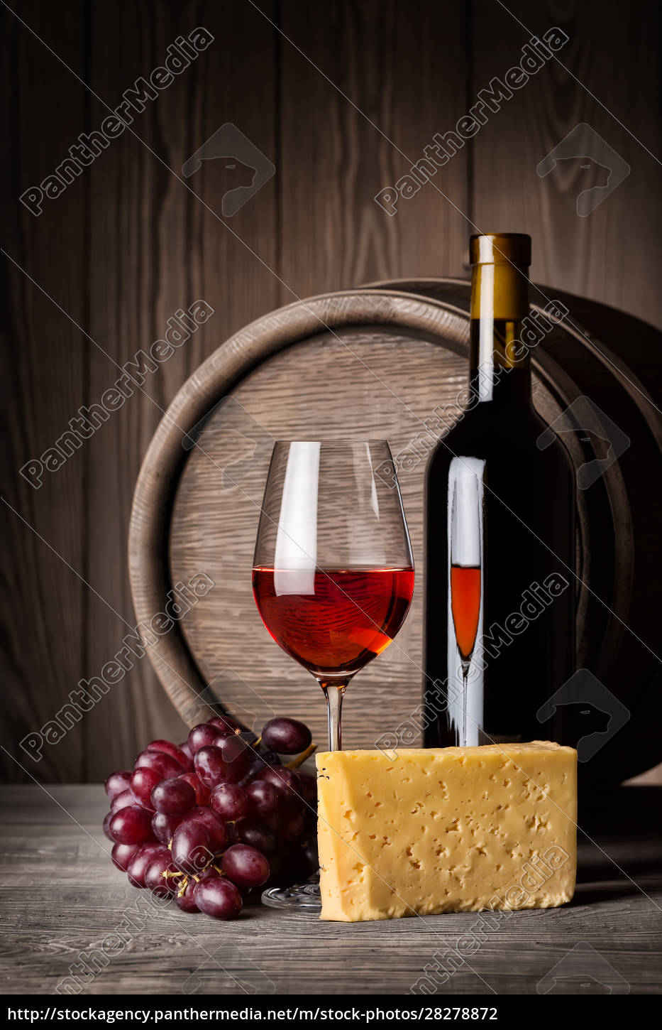 glass, of, red, wine, and, cheese - 28278872