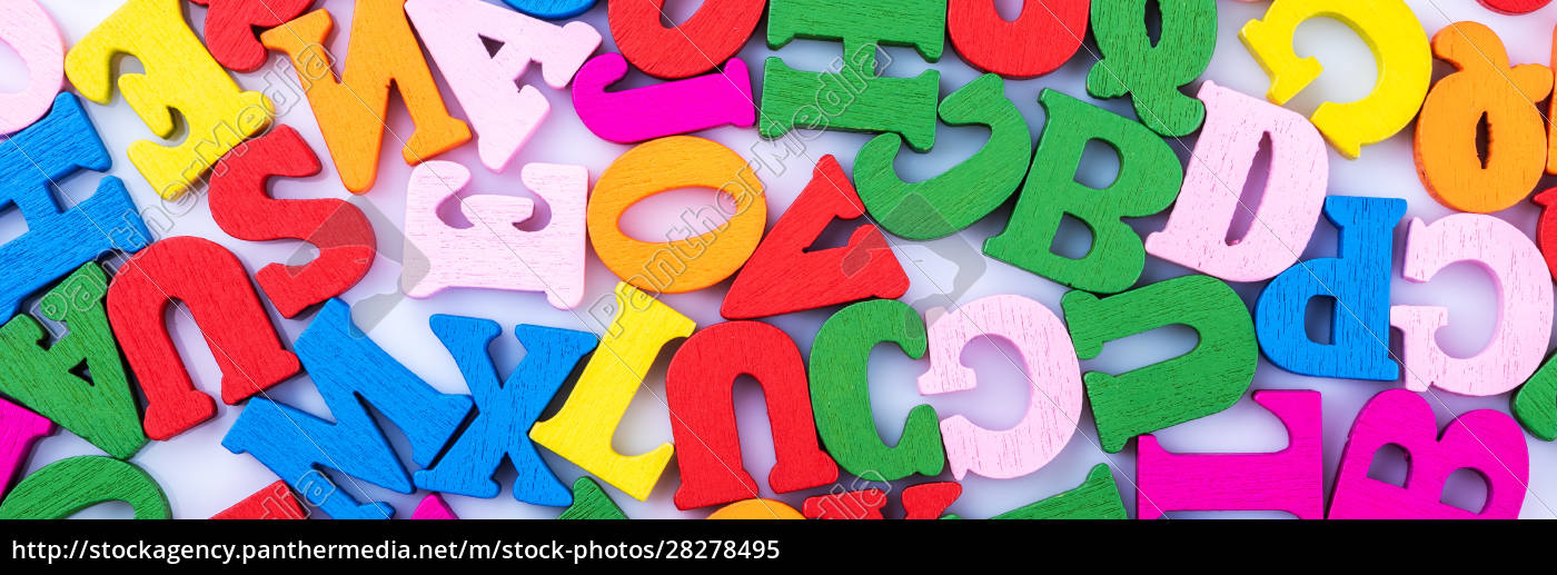 letters, of, the, alphabet, are, randomly - 28278495