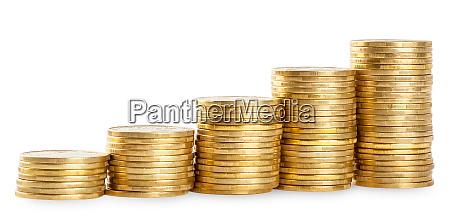 rising, columns, of, golden, coins - 28278824