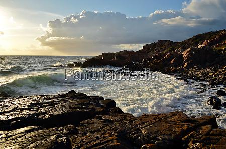 the, beautiful, rocky, coast, is, taken - 28278444