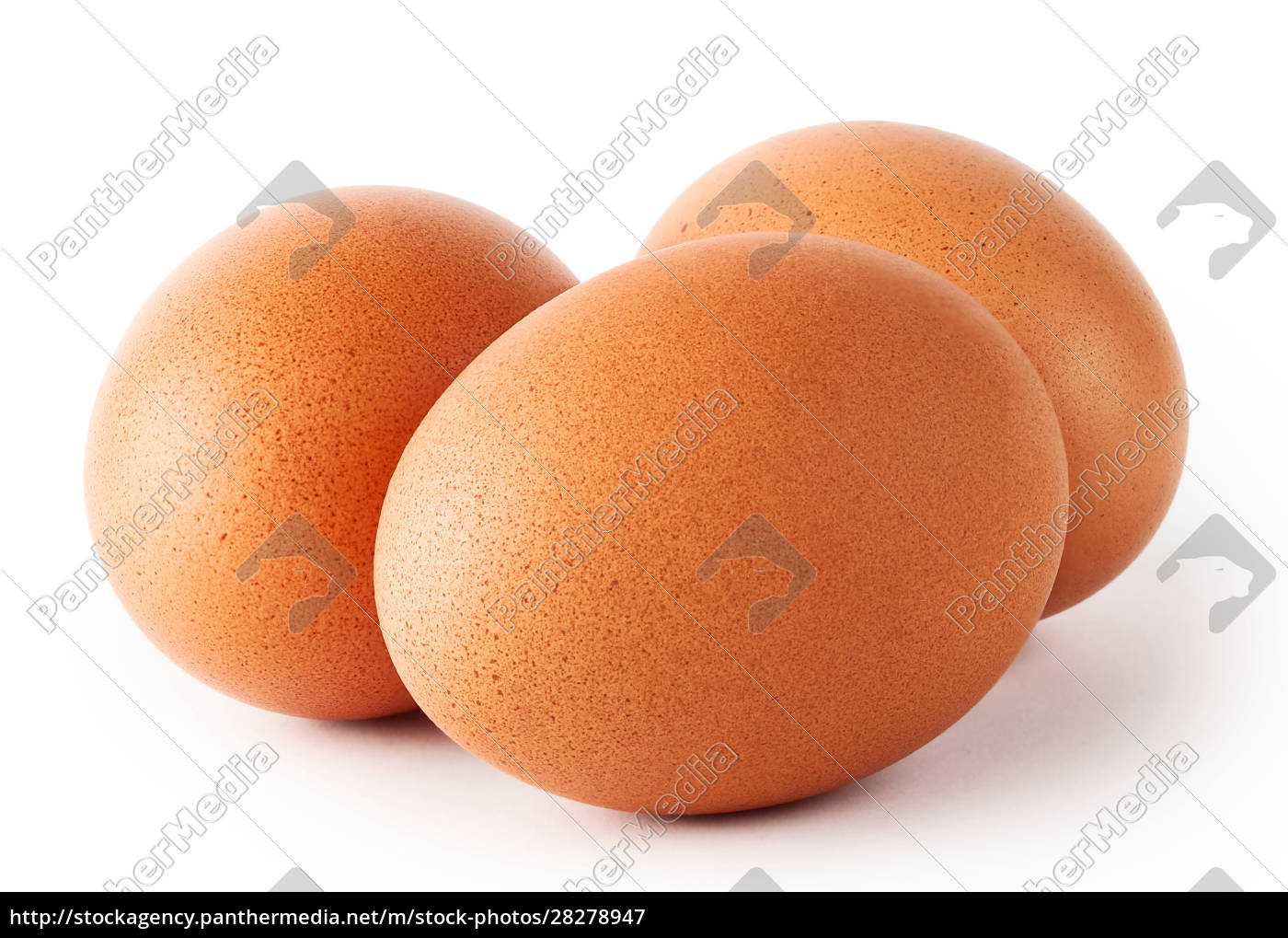 three, fresh, chicken, eggs - 28278947