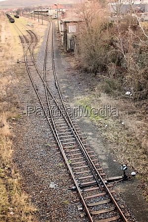 turnouts, , rails, , scenes, from, the, railway - 28278348