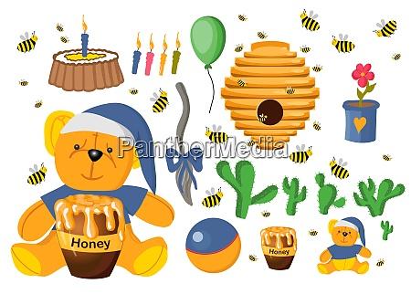 sticker set winnie the pooh toys