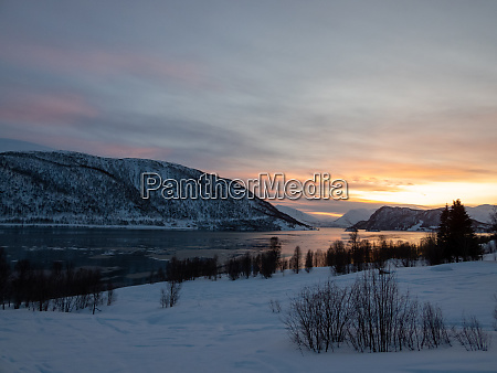 landscape in troms og finnmark tromso