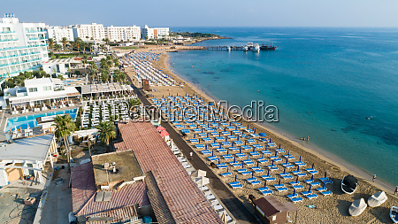 aerial, sunrise, beach, , protaras, , cyprus - 28279648