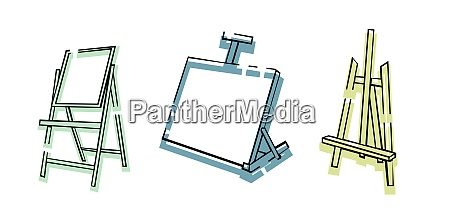 art, supplies., easel., stand, for, the - 28279123