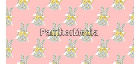 easter, background, horizontal, banner., seamless, pattern. - 28279809