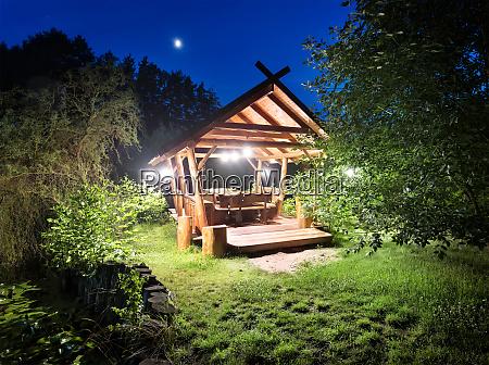 fairy, gazebo, in, woods - 28279869