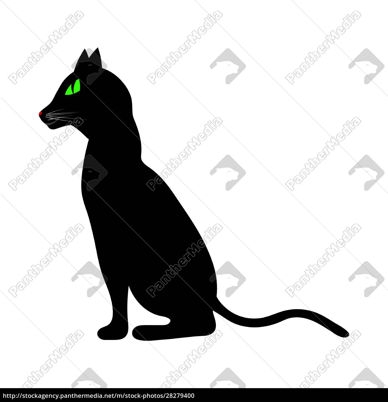 halloween, black, cat - 28279400