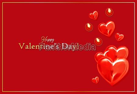 happy, valentine's, day, romantic, greeting, card. - 28279283