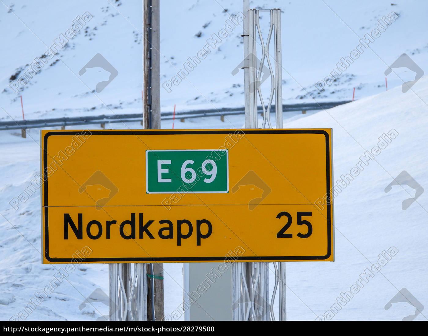 nordkapp, in, winter, , norway - 28279500