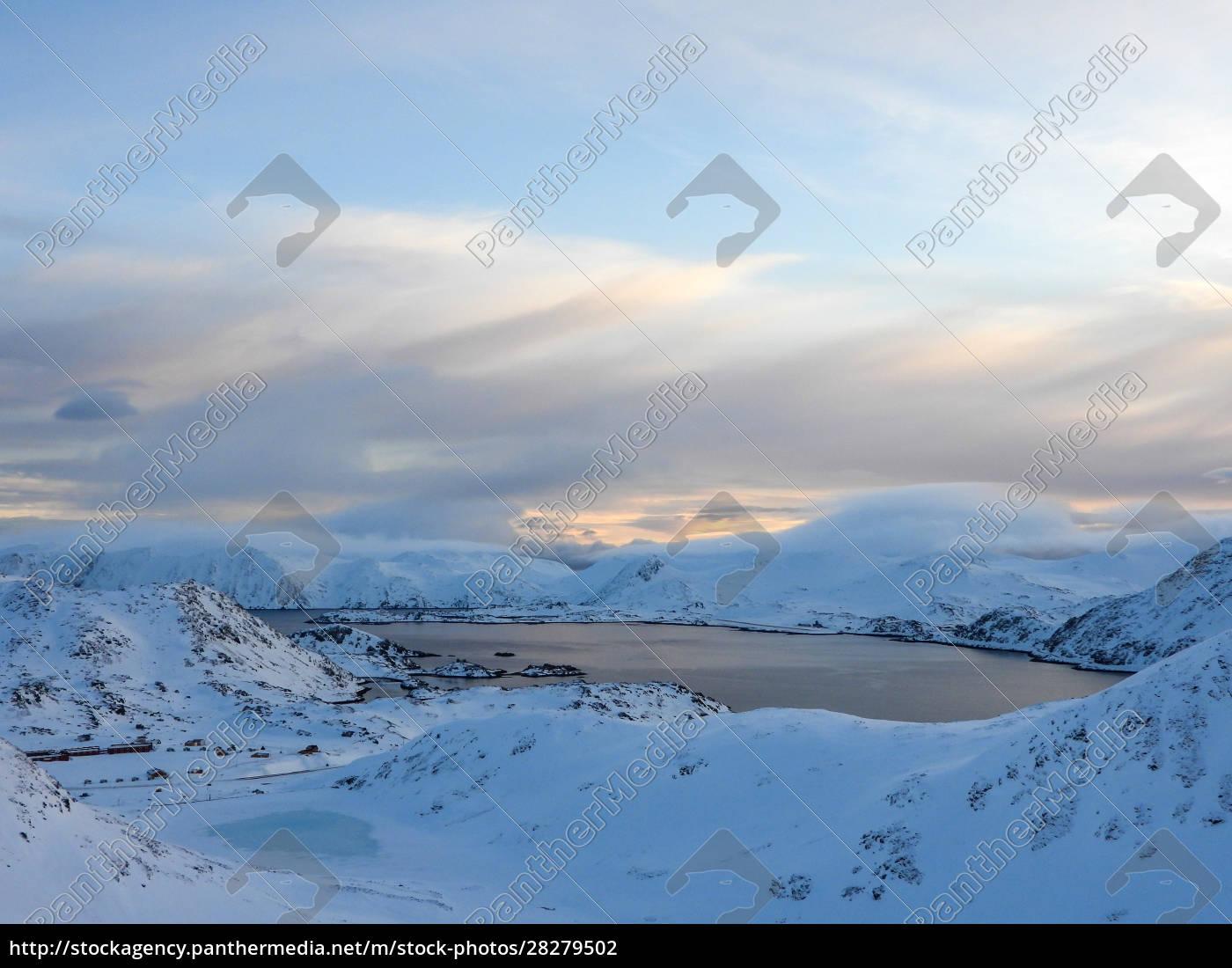nordkapp, in, winter, , norway - 28279502