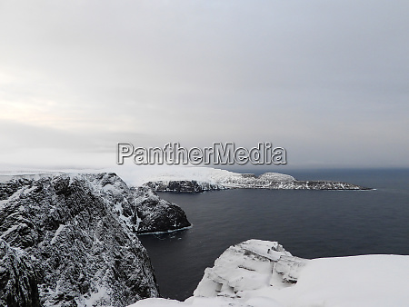 nordkapp, in, winter, , norway - 28279564