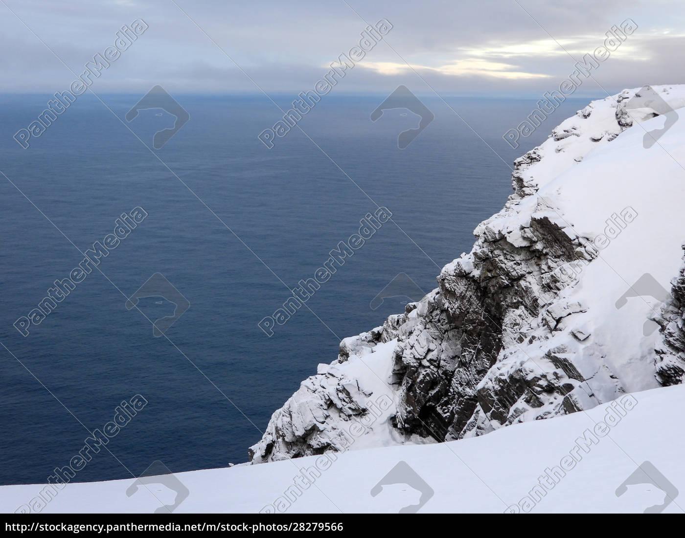 nordkapp, in, winter, , norway - 28279566