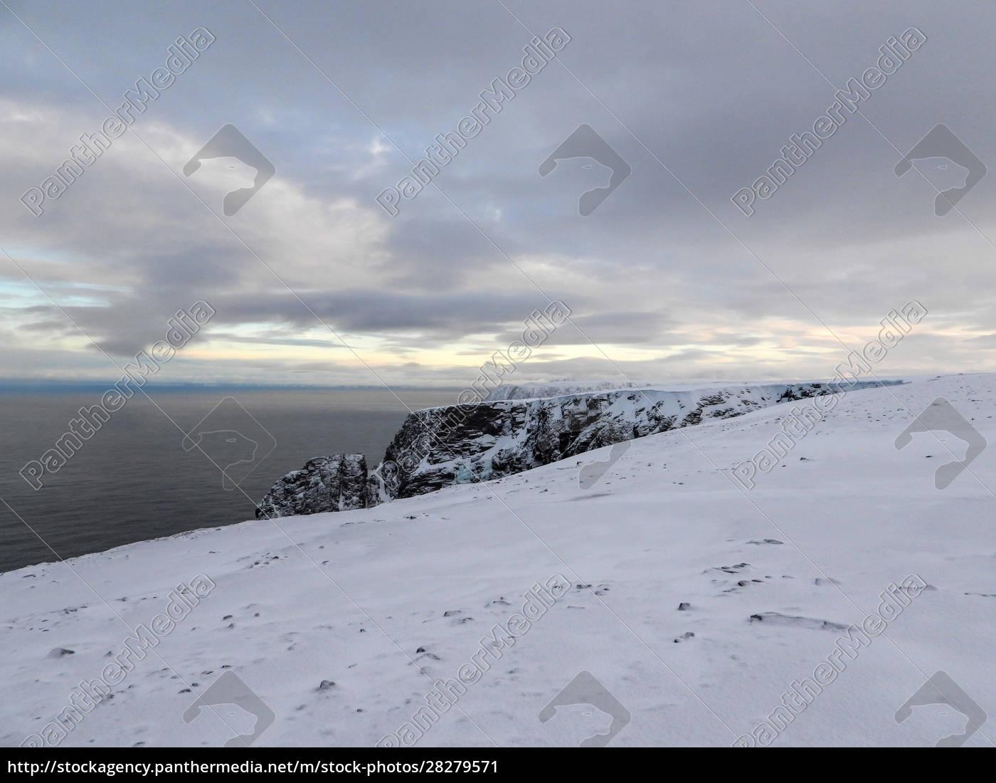 nordkapp, in, winter, , norway - 28279571