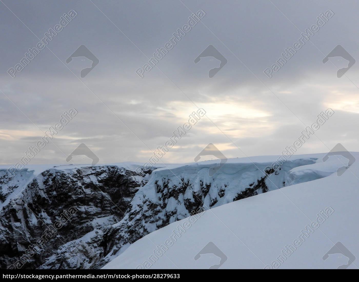 nordkapp, in, winter, , norway - 28279633