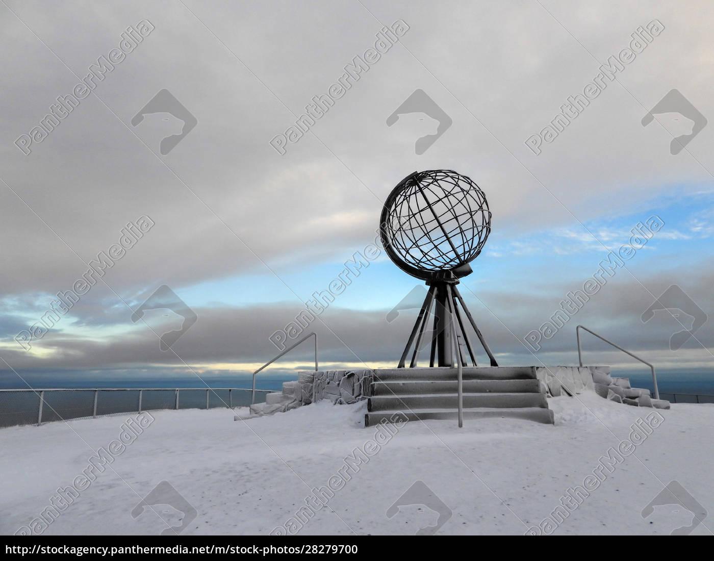 nordkapp, in, winter, , norway - 28279700