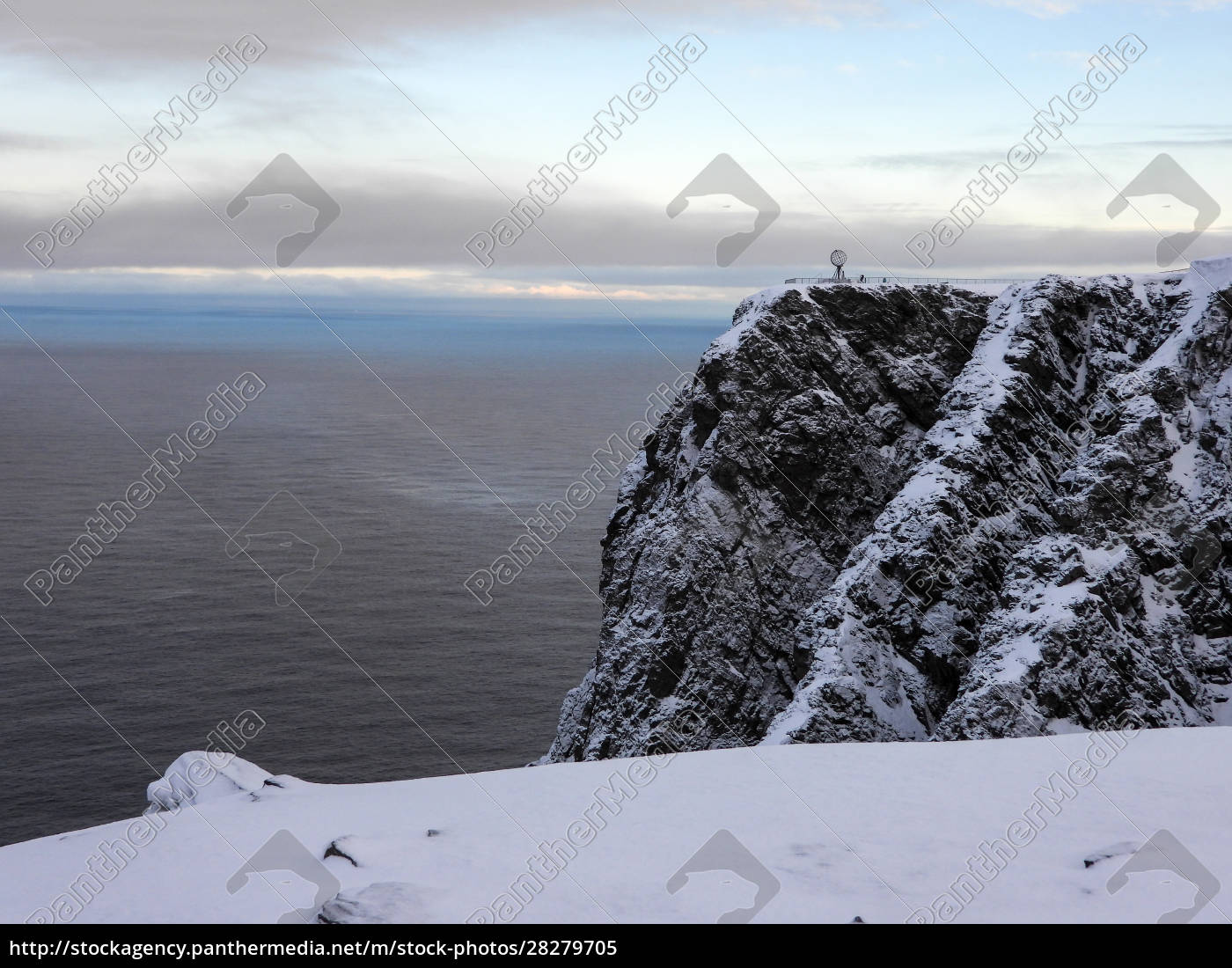 nordkapp, in, winter, , norway - 28279705