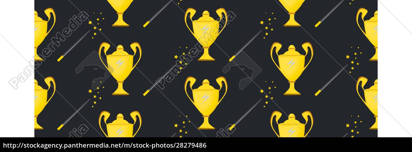 winner, cup., seamless, pattern., background, with - 28279486