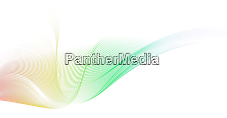 rainbow colored motion lines background
