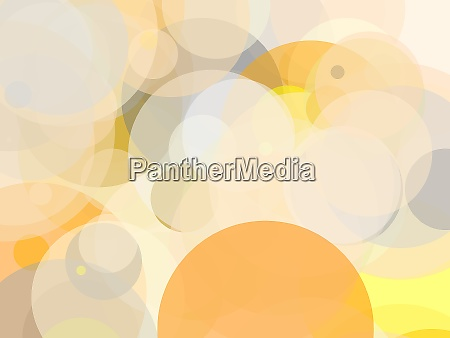 abstract, grey, orange, yellow, circles, illustration - 28280524