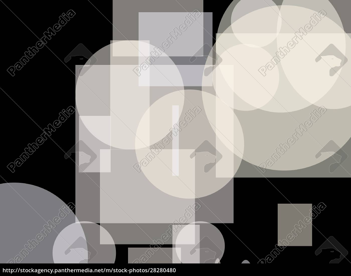 abstract, white, circle, and, ellipses, squares - 28280480