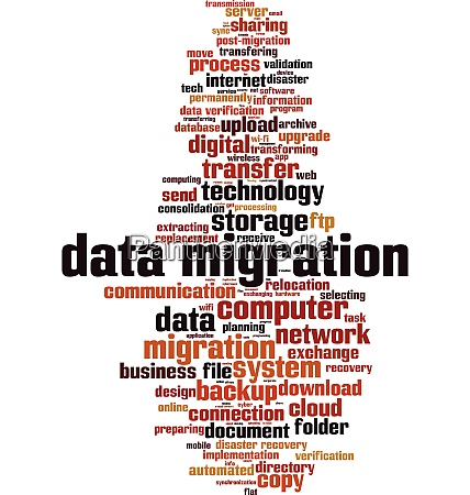 data, migration, word, cloud - 28280458