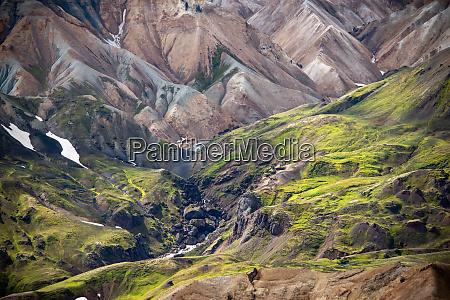 volcanic, mountains, of, landmannalaugar, in, fjallabak - 28280114