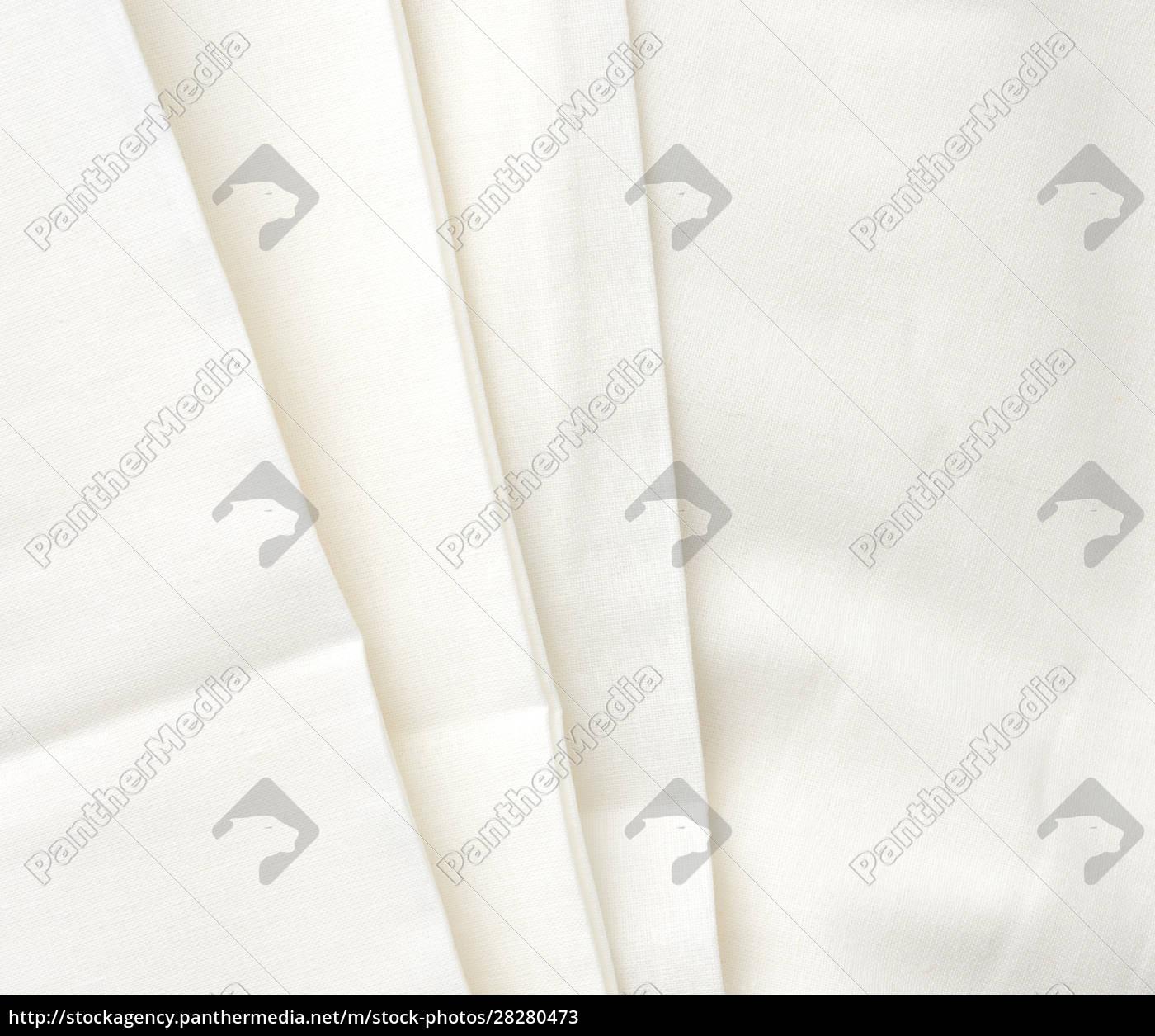 white, cotton, fabric, folded, , full, frame, - 28280473