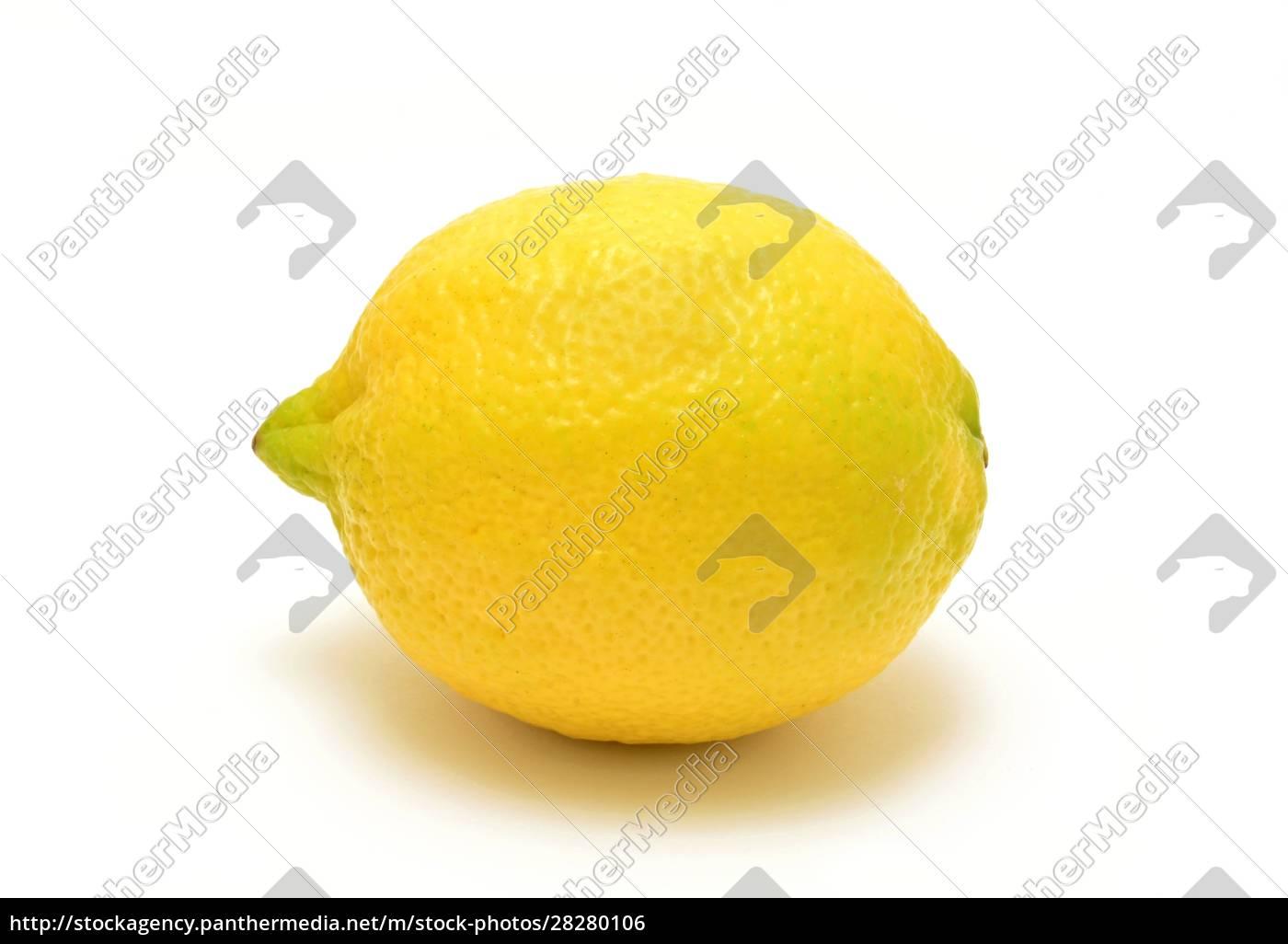 whole, lemon, on, white, background - 28280106