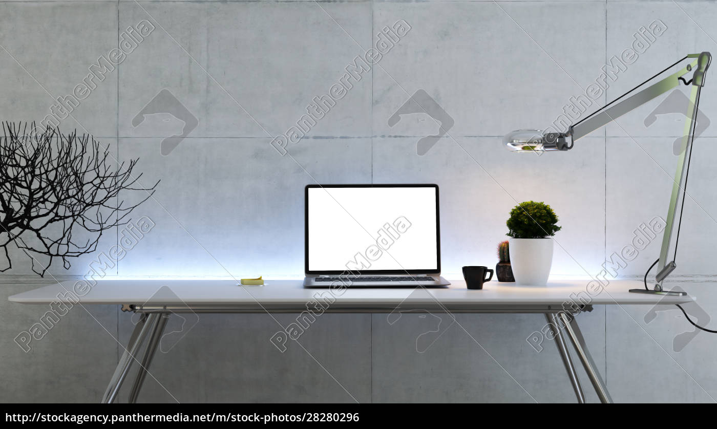 work, space, stand, mock, up, with - 28280296