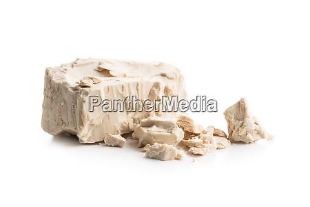 fresh yeast blocks