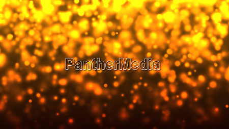 abstract particle lights bokeh circles background