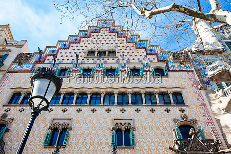 barcelona march 2018 casa amatller