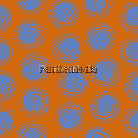 polka dot seamless pattern with abstract