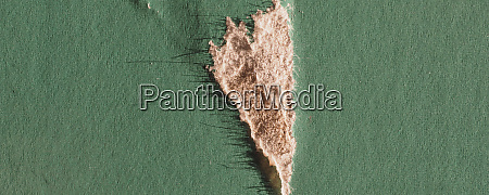 wide green cardboard texture background