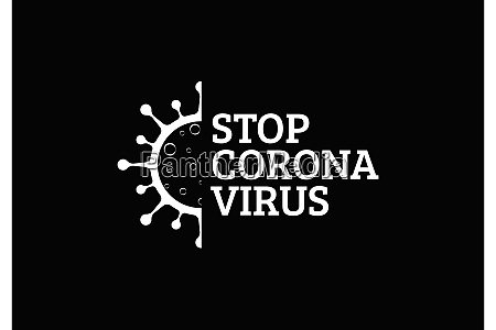 coronavirus covid 19 symbol of the
