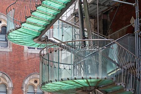 spiral staircase external