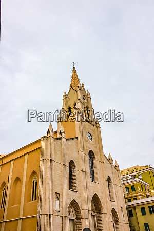 view at san teodoro church in