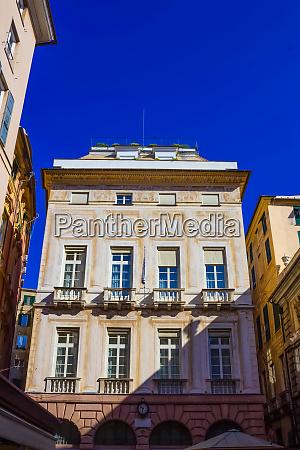 facade of an old italian building