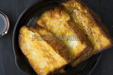 rustic french toast breakfast comfort food