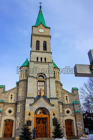 holy family church in zakopane poland