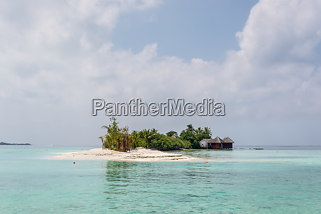 small island in the maldives indian